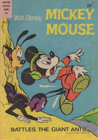 Cover Thumbnail for Walt Disney's Mickey Mouse (W. G. Publications; Wogan Publications, 1956 series) #213