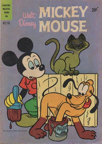 Cover Thumbnail for Walt Disney's Mickey Mouse (W. G. Publications; Wogan Publications, 1956 series) #216