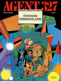 Cover Thumbnail for Agent 327 (Egmont Ehapa, 1983 series) #3 - Geheimakte Siebenschläfer