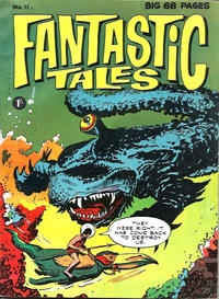 Cover Thumbnail for Fantastic Tales (Thorpe & Porter, 1963 series) #11