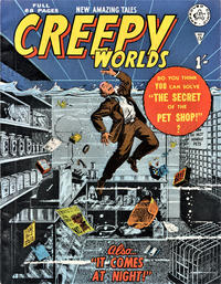 Cover Thumbnail for Creepy Worlds (Alan Class, 1962 series) #13