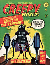 Cover Thumbnail for Creepy Worlds (Alan Class, 1962 series) #16