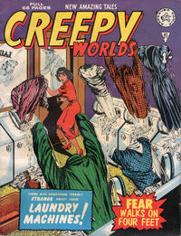 Cover Thumbnail for Creepy Worlds (Alan Class, 1962 series) #21