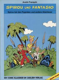 Cover Thumbnail for Spirou und Fantasio - Carlsen Classics (Carlsen Comics [DE], 1987 series) #[1] - Spirou bei den Pygmäen und andere Abenteuer