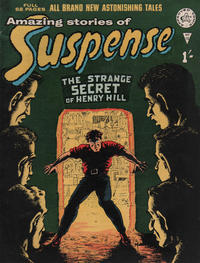 Cover Thumbnail for Amazing Stories of Suspense (Alan Class, 1963 series) #10
