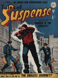 Cover Thumbnail for Amazing Stories of Suspense (Alan Class, 1963 series) #2