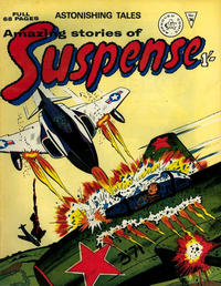 Cover Thumbnail for Amazing Stories of Suspense (Alan Class, 1963 series) #74