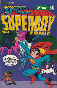 Cover Thumbnail for Superman Presents Superboy Comic (K. G. Murray, 1976 ? series) #117