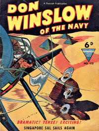 Cover Thumbnail for Don Winslow of the Navy (L. Miller & Son, 1952 series) #113