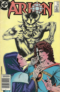 Cover Thumbnail for Arion, Lord of Atlantis (DC, 1982 series) #26 [Newsstand]
