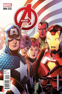 Cover Thumbnail for Avengers (Marvel, 2013 series) #44 [Jim Cheung]