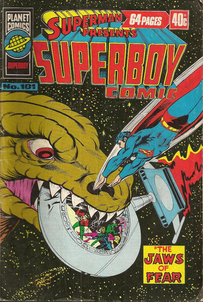 Cover for Superman Presents Superboy Comic (K. G. Murray, 1976 ? series) #101