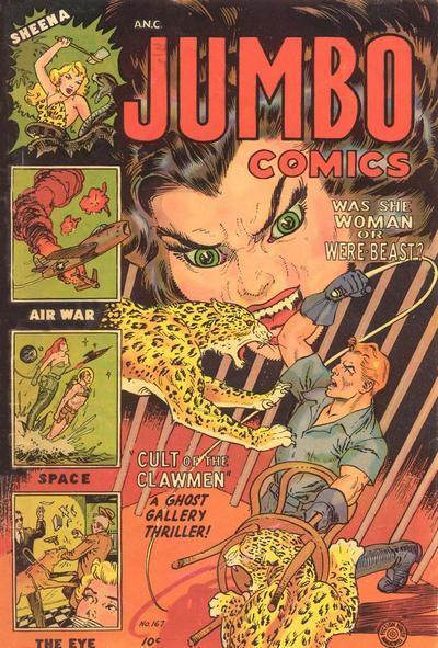 Cover for Jumbo Comics (Superior, 1951 series) #167