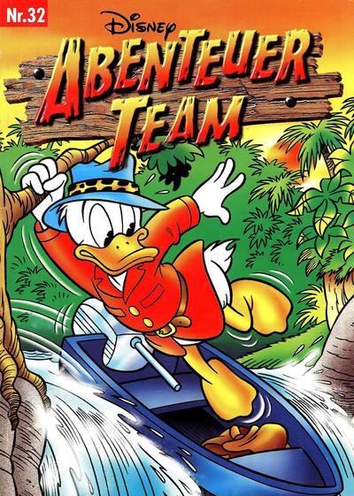 Cover for Abenteuer Team (Egmont Ehapa, 1996 series) #32
