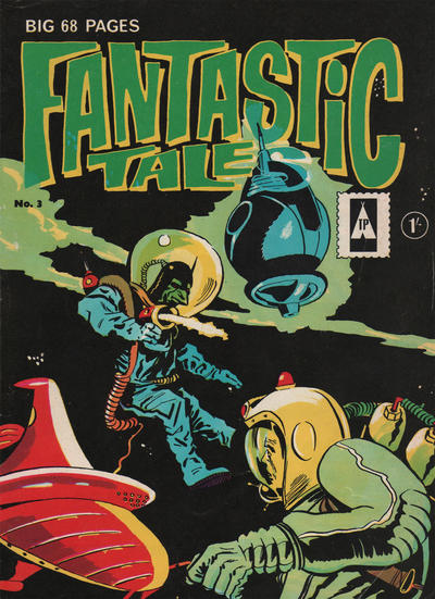 Cover for Fantastic Tales (Thorpe & Porter, 1963 series) #3