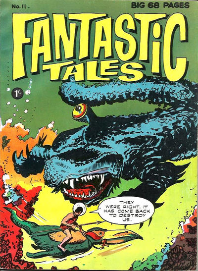 Cover for Fantastic Tales (Thorpe & Porter, 1963 series) #11