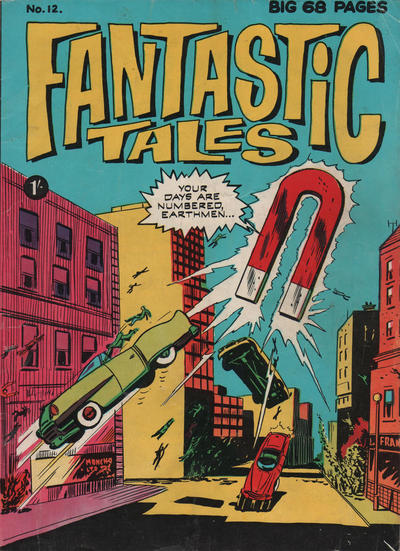 Cover for Fantastic Tales (Thorpe & Porter, 1963 series) #12
