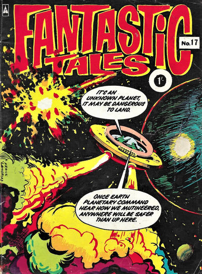 Cover for Fantastic Tales (Thorpe & Porter, 1963 series) #17