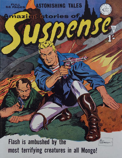 Cover for Amazing Stories of Suspense (Alan Class, 1963 series) #77
