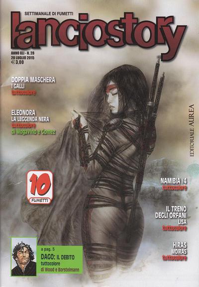 Cover for Lanciostory (Editoriale Aurea, 2010 series) #v41#28