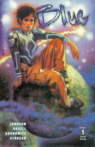 Cover for Blue (Image, 1999 series) #1