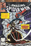 Cover for The Amazing Spider-Man (Marvel, 1963 series) #210 [Direct Edition]