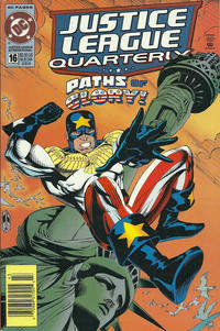 Cover Thumbnail for Justice League Quarterly (DC, 1990 series) #16 [Newsstand]