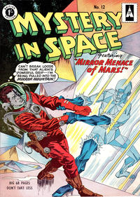 Cover Thumbnail for Mystery in Space (Thorpe & Porter, 1958 ? series) #12