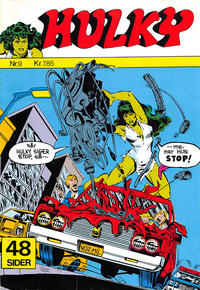 Cover Thumbnail for Hulky (Winthers Forlag, 1982 series) #9