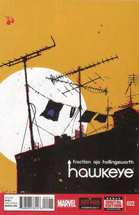 Cover Thumbnail for Hawkeye (Marvel, 2012 series) #22