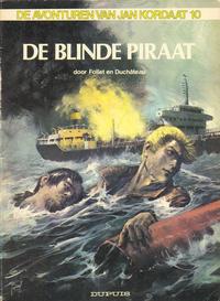 Cover Thumbnail for Jan Kordaat (Dupuis, 1958 series) #10 - De blinde piraat