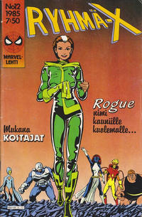 Cover Thumbnail for Ryhmä-X (Semic, 1984 series) #12/1985