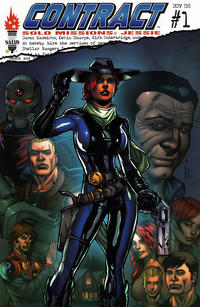 Cover Thumbnail for Contract Solo Missions: Jessie (First Salvo Productions, 2008 series) #1