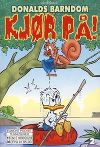 Cover Thumbnail for Donalds barndom (Hjemmet / Egmont, 2015 series) #2 - Kjør på!