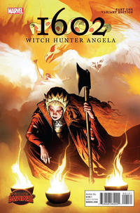 Cover Thumbnail for 1602: Witch Hunter Angela (Marvel, 2015 series) #1 [Incentive Richard Isanove Variant]