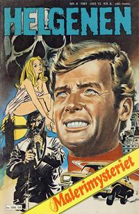 Cover Thumbnail for Helgenen (Semic, 1977 series) #4/1981