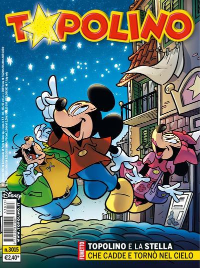 Cover for Topolino (The Walt Disney Company Italia, 1988 series) #3015