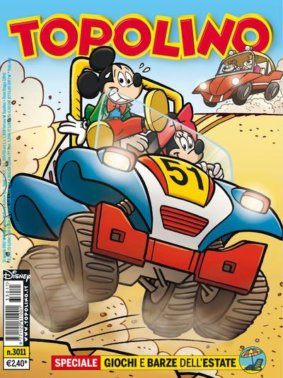 Cover for Topolino (The Walt Disney Company Italia, 1988 series) #3011
