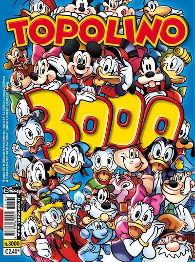 Cover for Topolino (The Walt Disney Company Italia, 1988 series) #3000