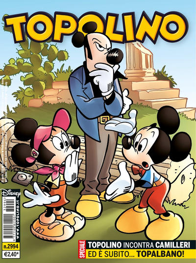 Cover for Topolino (The Walt Disney Company Italia, 1988 series) #2994