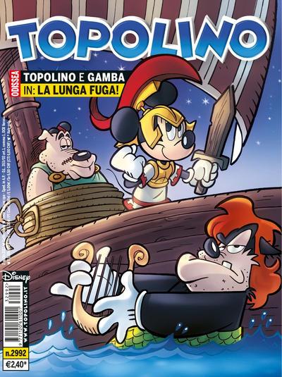 Cover for Topolino (The Walt Disney Company Italia, 1988 series) #2992