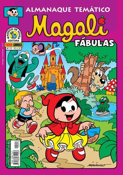 Cover for Almanaque Temático (Panini Brasil, 2007 series) #13 - Magali: Fábulas