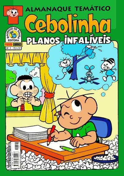 Cover for Almanaque Temático (Panini Brasil, 2007 series) #8 - Cebolinha: Planos Infalíveis