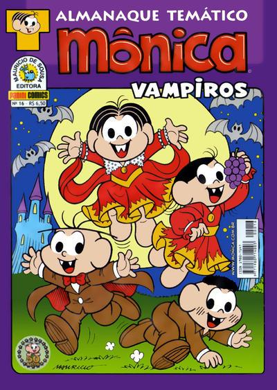 Cover for Almanaque Temático (Panini Brasil, 2007 series) #16 - Mônica: Vampiros
