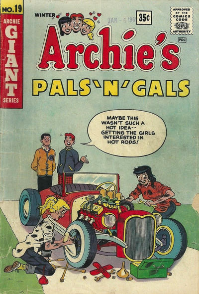 Cover for Archie's Pals 'n' Gals (Archie, 1952 series) #19