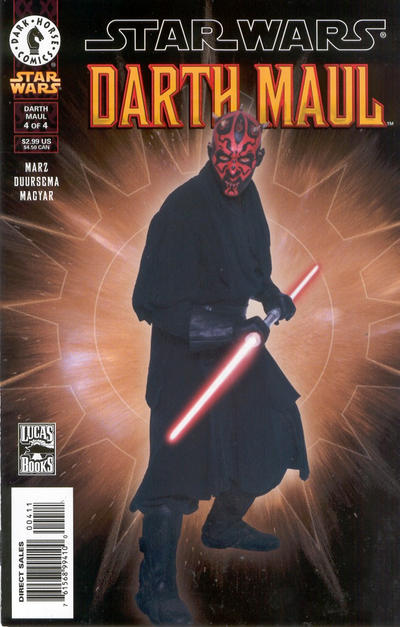 Cover for Star Wars: Darth Maul (Dark Horse, 2000 series) #4 [Regular Edition]