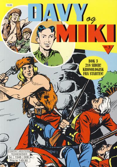 Cover for Davy og Miki (Hjemmet / Egmont, 2014 series) #3