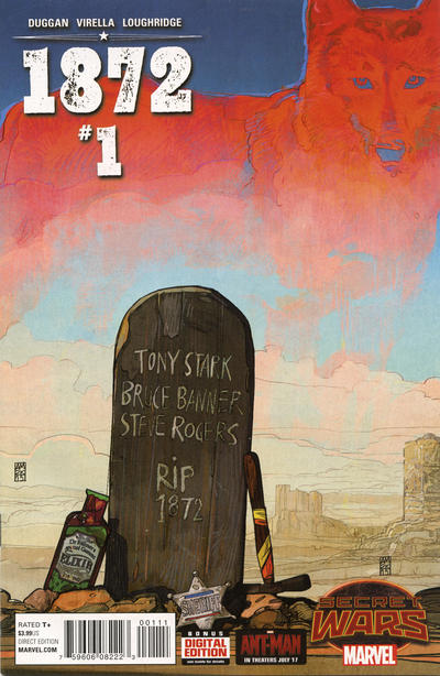"Cover for 1872 (Marvel, 2015 series) #1 [Variant Edition - Evan ""Doc"" Shaner]"