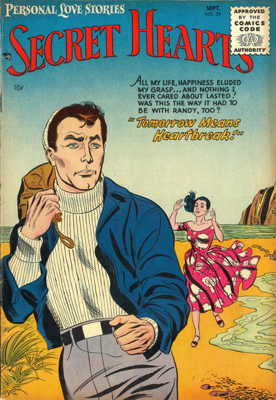 Cover for Secret Hearts (DC, 1949 series) #29
