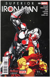 Cover for Superior Iron Man (Marvel, 2015 series) #8